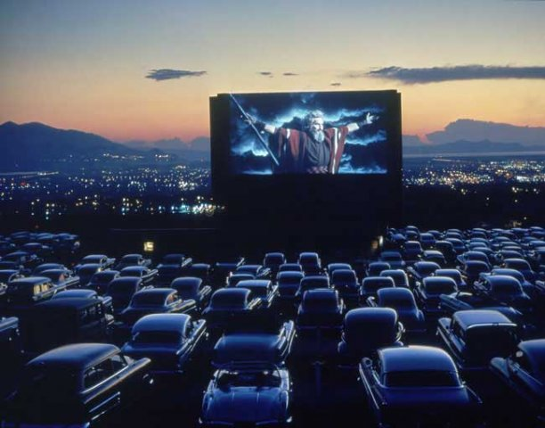 Rubidoux drive in movie theatre