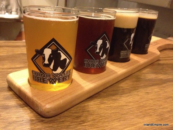 Chino Valley Brewery Beer Taster