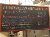 Chino Valley Brewery Chalkboard 2