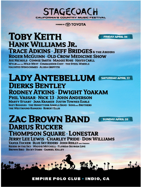 Stagecoach 2013 Lineup