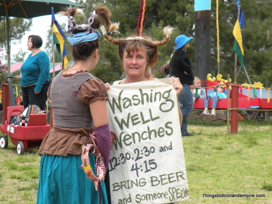 Washing Well Wenches