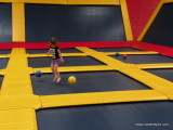 Jumping with Bouncy Ball