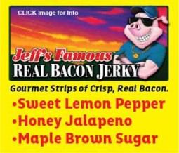 Jeff's Famous Bacon Jerky