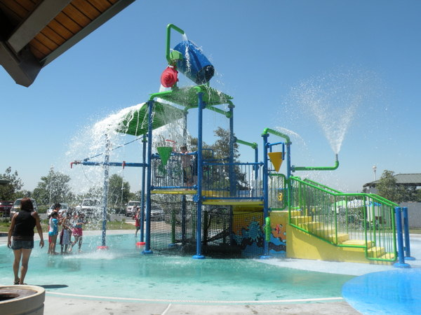 Splash Pads In The Inland Empire