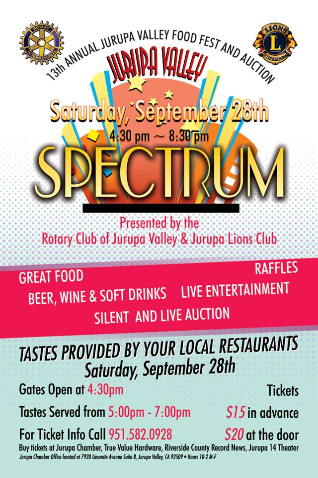 sc 1 st  Inland Empire .com & 13th Annual Jurupa Valley Food Fest u0026 Auction