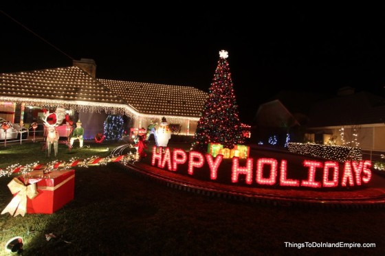 Christmas Lights Alta Loma Rancho Cucamonga Thoroughbred