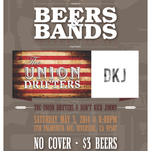 Beers & Bands - Inland Empire Brewing Co. May 3, 2014