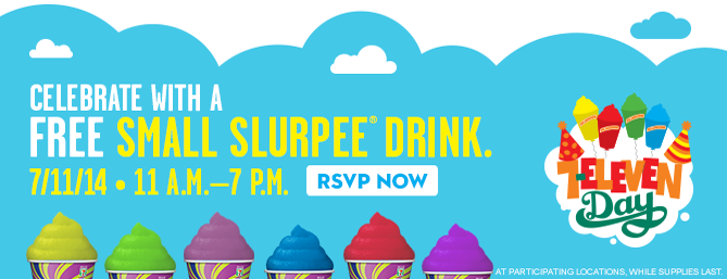 7-11 7-eleven free slurpee day inland empire