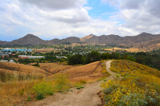 Hiking inland empire Riverside UCR botanical garden